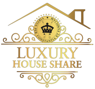 luxury house share logo