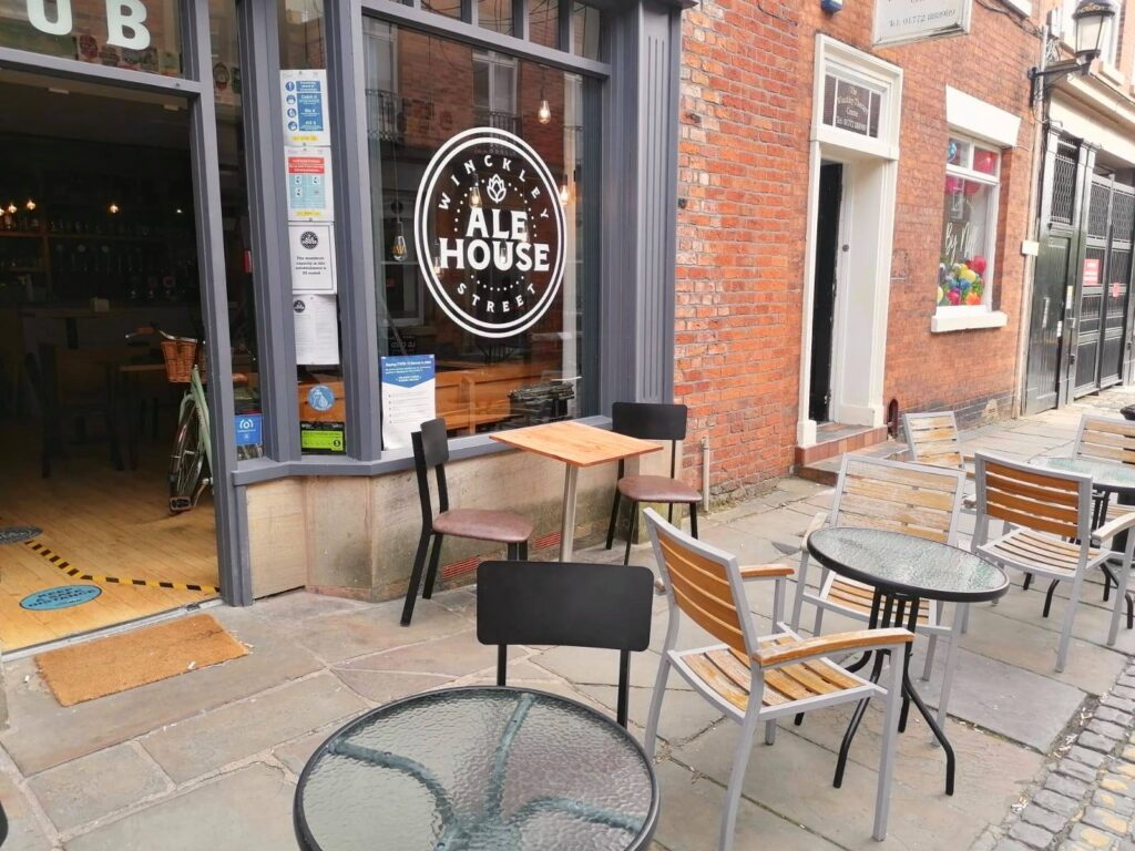 25% off food only at The Winckley Street Ale House.